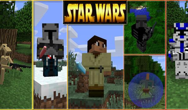 Star Wars Mod para Minecraft 1.5.1 y 1.5.2