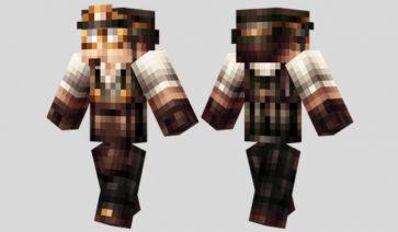 Steampunk Miner Skin