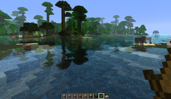 Water Shader Mod para Minecraft 1.5.1 y 1.5.2
