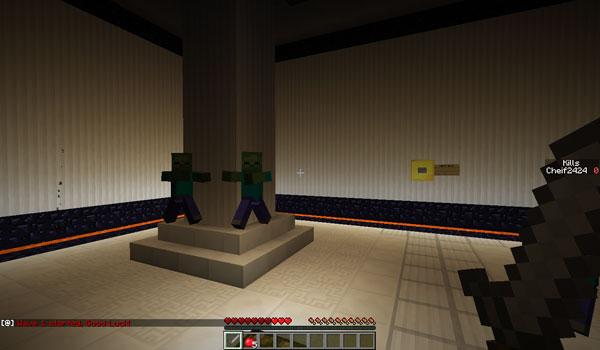 Zombie Arena 3 Map para Minecraft 1.5.1