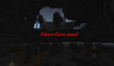 Cave-Gen Mod para Minecraft 1.5.2