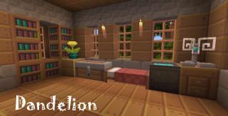 Dandelion Texture Pack para Minecraft 1.5.2