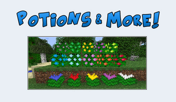 Potions and More Mod para Minecraft 1.5.2