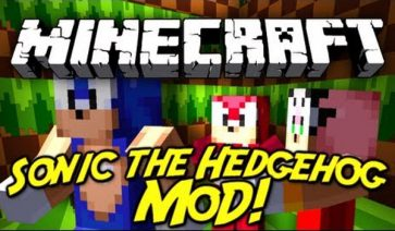 Sonic The Hedgehog Mod para Minecraft 1.5.2