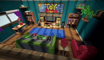 Toy Story 2 Adventure Map para Minecraft 1.6.2
