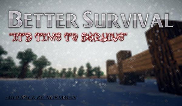 Better Survival Mod Pack para Minecraft 1.5.2