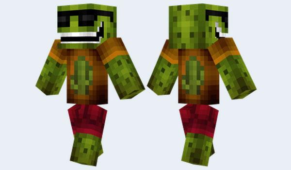 Cool Cactus Skin para Minecraft