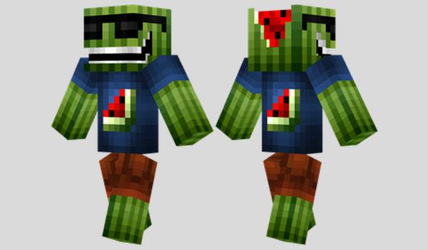 Cool Melon Skin para Minecraft