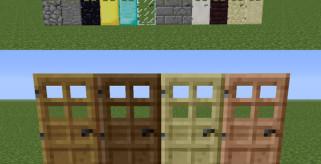 Extra Doors Mod para Minecraft 1.5.1 y 1.5.2