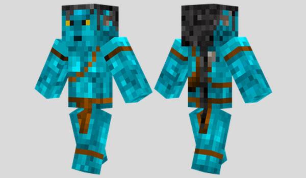 Jake Sully Skin para Minecraft