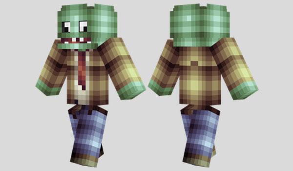 Plants vs. Zombies Skin para Minecraft