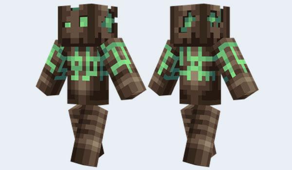 Plasma Golem Skin para Minecraft