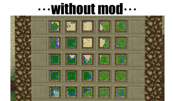 Cartographer Mod para Minecraft 1.6.2 y 1.6.4