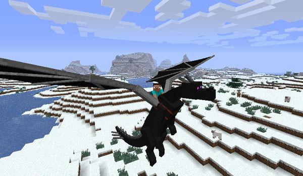 Dragon Mounts Mod para Minecraft 1.6.2 y 1.6.4