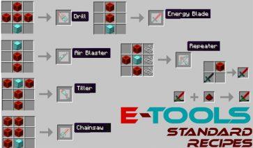 E-Tools Mod para Minecraft 1.6.2