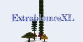 Extrabiomes XL Mod para Minecraft 1.6.1