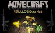 Ferullo's Guns Mod para Minecraft 1.6.2 y 1.6.4