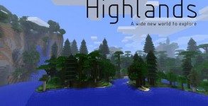 Highlands Mod para Minecraft 1.6.2