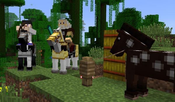 Minecraft 1.6.1 – Actualización de los caballos