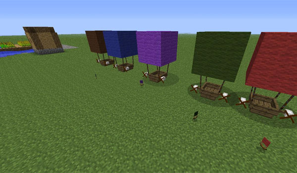 The Airship Mod para Minecraft 1.6.2