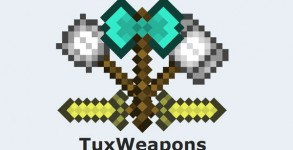 Tux Weapons Mod para Minecraft 1.6.2