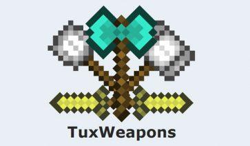 Tux Weapons Mod para Minecraft 1.6.2 y 1.6.4