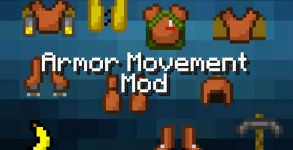 Armor Movement Mod para Minecraft 1.6.2