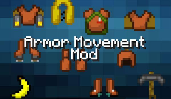 Armor Movement Mod para Minecraft 1.6.2 y 1.6.4