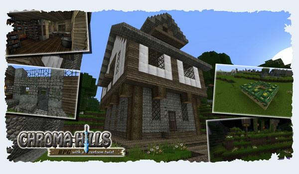Chroma Hills RPG Texture Pack para Minecraft 1.8