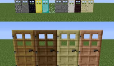 Extra Doors Mod para Minecraft 1.6.2 y 1.6.4