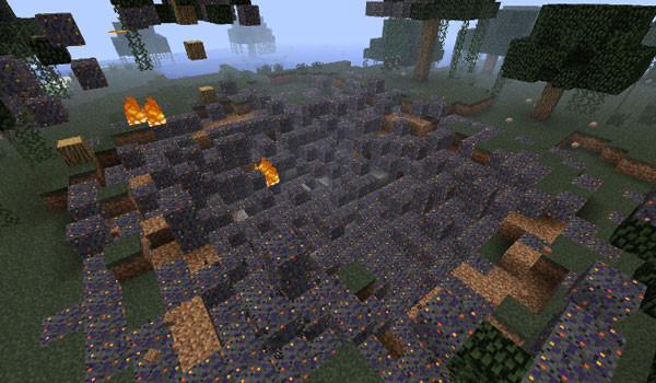 Falling Meteors Mod para Minecraft 1.6.2 y 1.6.4