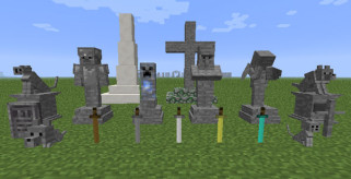 Gravestone Mod para Minecraft 1.6.2