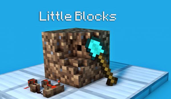 Little Blocks Mod para Minecraft 1.6.2 y 1.6.4