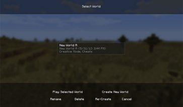 NovaMenu Mod para Minecraft 1.6.2 y 1.6.4
