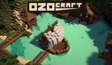 OzoCraft Texture Pack para Minecraft 1.8