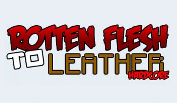 Rotten Flesh to Leather Mod para Minecraft 1.6.2