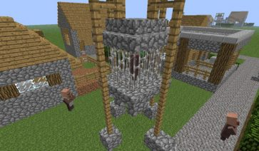 Village-Up Mod para Minecraft 1.6.2 y 1.6.4