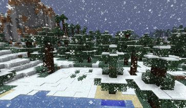 Better Snow Mod para Minecraft 1.6.2 y 1.6.4