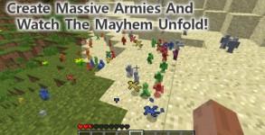 Clay Soldiers Mod para Minecraft 1.6.2