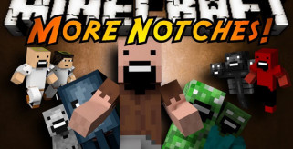 More Notches Mod para Minecraft 1.6.2