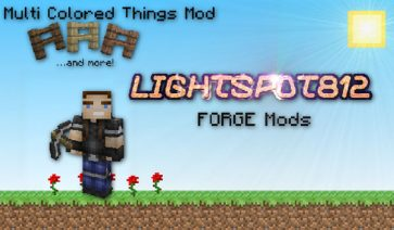 Multi Colored Things Mod para Minecraft 1.6.2