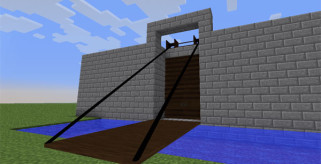 Tall Doors Mod para Minecraft 1.6.2