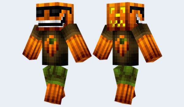 Cool Pumpkin Skin