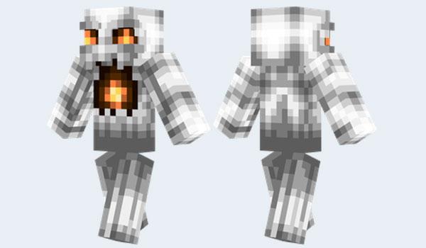 Daemon Ghast Skin para Minecraft