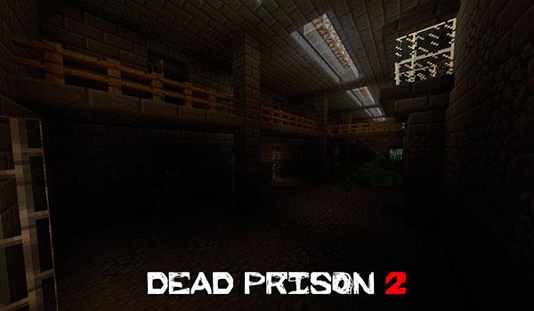 Dead Prison 2 Map para Minecraft 1.8
