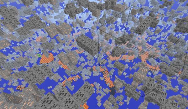 X-Ray Mod para Minecraft 1.7.2 y 1.7.4
