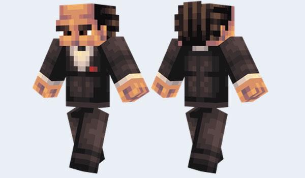 Don Corleone Skin para Minecraft