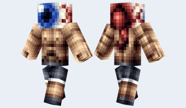 Eyeball Skin para Minecraft