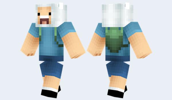 Finn Skin Para Minecraft MineCrafteo - Skin para minecraft q