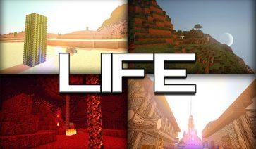 Life HD Texture Pack para Minecraft 1.8